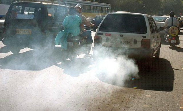 Polluting car india
