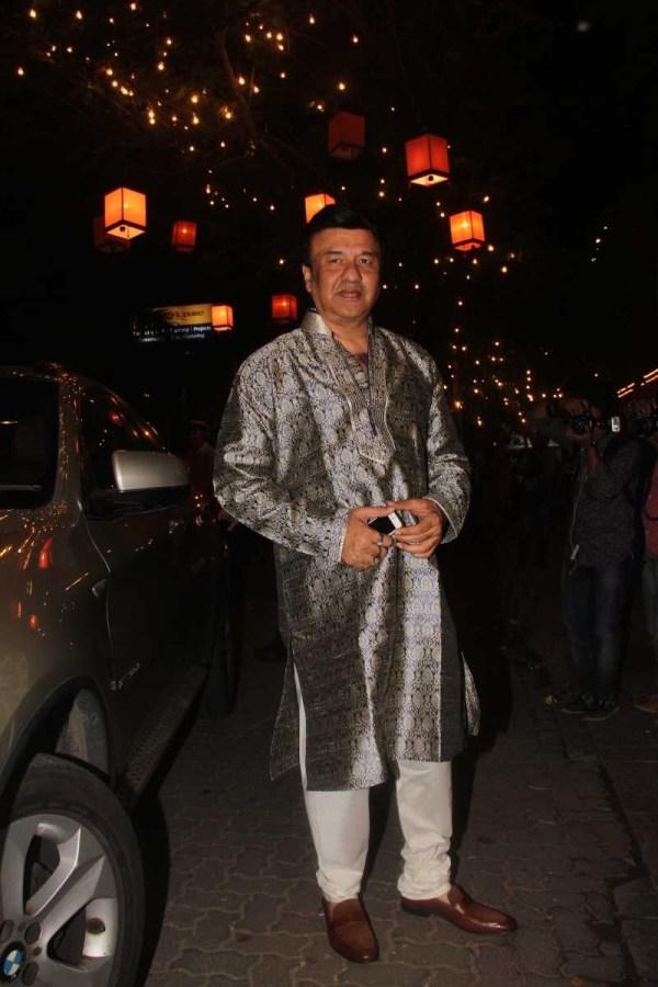 Anu Malik with his BMW X1