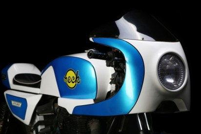 Autologue Design's Cafe Racer Kit for Royal Enfield Motorcycles 3