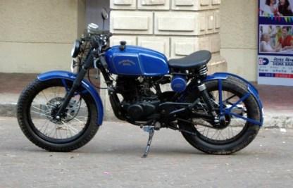 Bombay Custom Works' Bajaj Pulsar based cafe racer custom 3