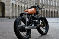 Bombay Custom Works' Yamaha RX135 Cafe Racer 2