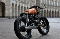 Bombay Custom Works' Yamaha RX135 Cafe Racer 2