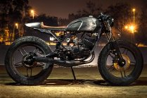 Bull City Customs' Yamaha RX135 cafe racer 2