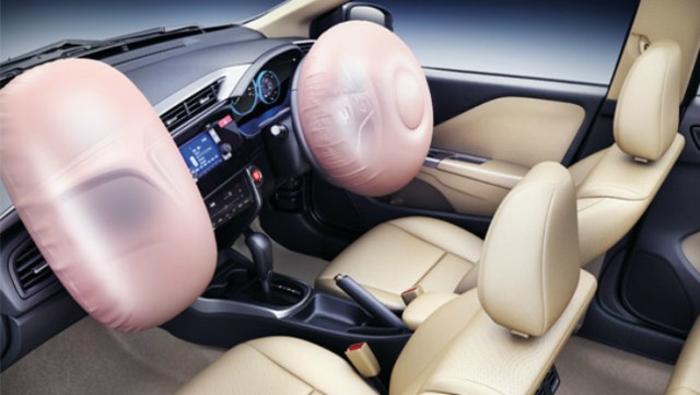 Honda City airbags
