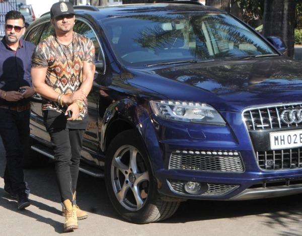 Honey Singh and his Audi Q7