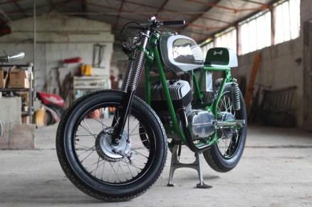 Jawa 350 based Bone Cafe Racer 2