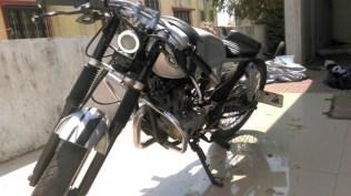 Joat Moto Custom's Bajaj Pulsar 150 Cafe Racer custom 2