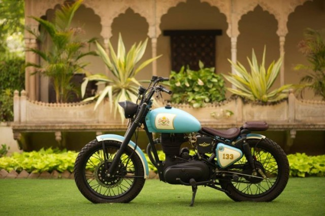 Rajputana Customs' Royal Enfield Retro 350 4
