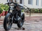 Rajputana Motorcycles' RE500 Cafe Racer 1