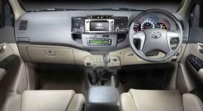 Toyota Fortuner Interiors 1