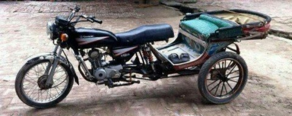 When you have a spare bike lying around