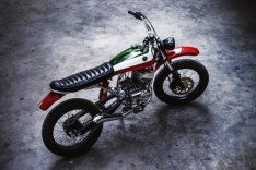 Yamaha RX100 Scrambler Custom 2