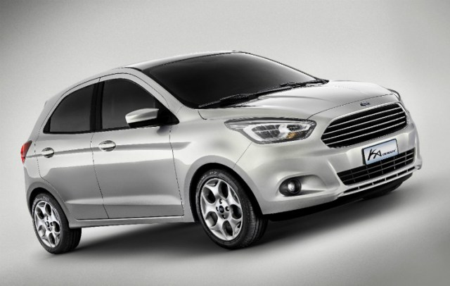 Ford Ka Concept Upcoming Figo front