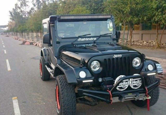 Azad 4X4's Mahindra Thar Custom 1