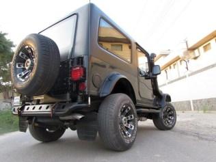 Azad 4X4's Mahindra Thar Custom 2