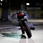 Crossover Kustoms' Yamaha RX135 Cafe Racer 3