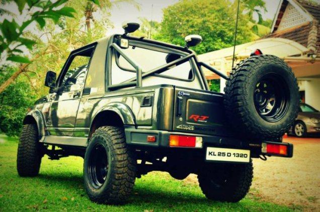 RJ Design's Maruti Suzuki Gypsy King 2