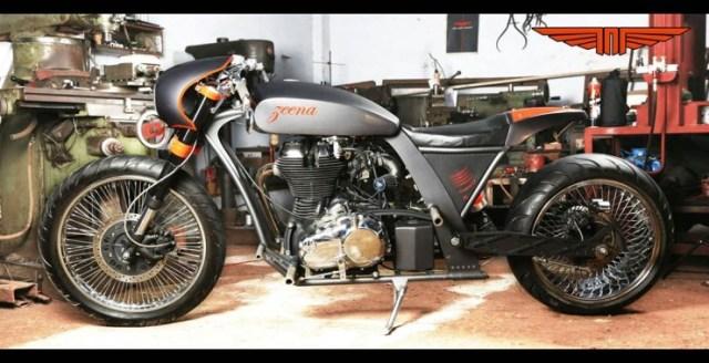 TNT Motorcycles' Zeena Royal Enfield Custom 5