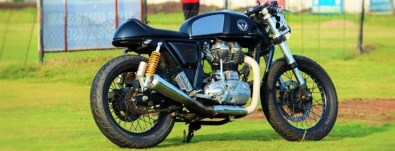 Buraq Motorcycles' Continental GT Custom 1