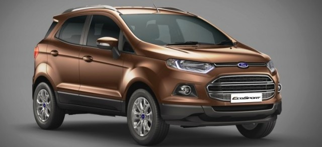 Ford EcoSport launched