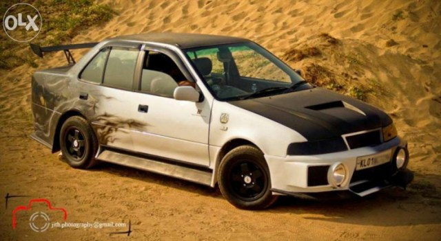 Maruti Esteem diesel custom