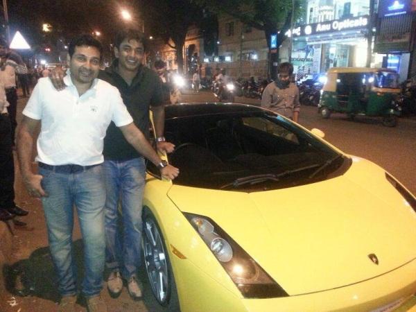 Mohammed Nisham and his Lamborghini Gallardo