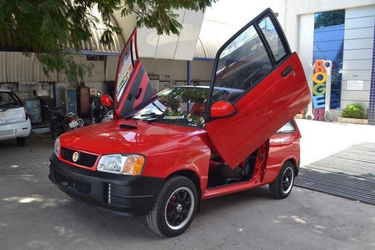 Cars With Scissor Doors Maruti Swift To Hyundai I20