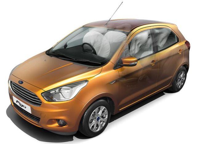 Ford Figo 6 Airbags