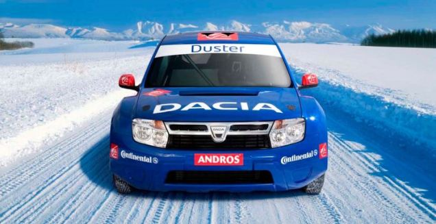 Renault Duster Competition 1