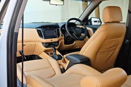 Hyundai Creta Modified interior