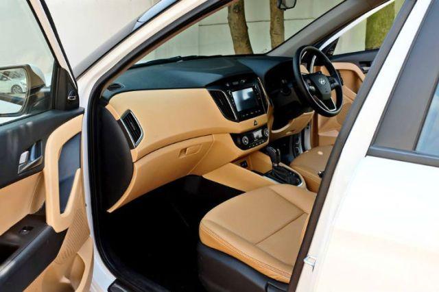 Hyundai Creta Modified dash