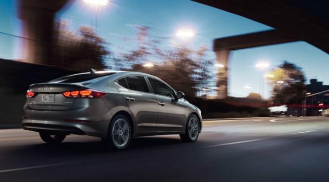 All new Hyundai Elantra rear