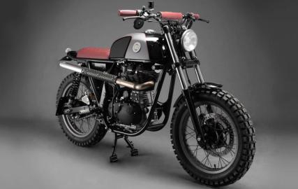 Analog Motorcycles' Royal Enfield Scrambler 1