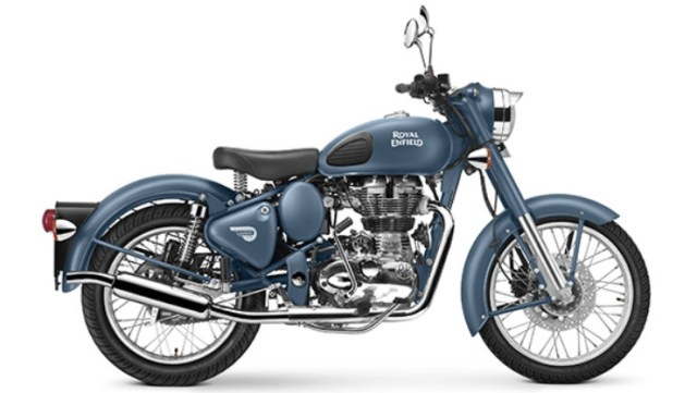 Royal Enfield Squadron Blue Classic 500