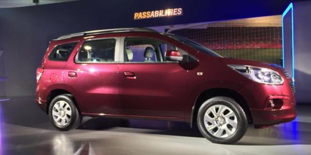 Chevrolet Spin 3