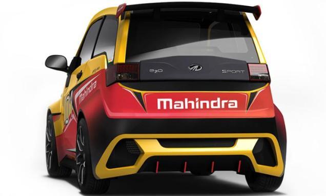 Mahindra E2O Sport 4