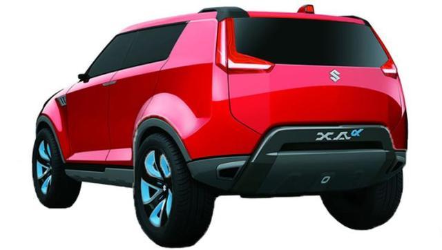 Maruti Suzuki XA Alpha Concept 4