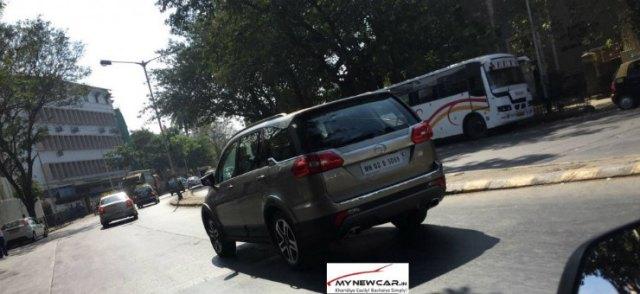 Tata Hexa Spotted