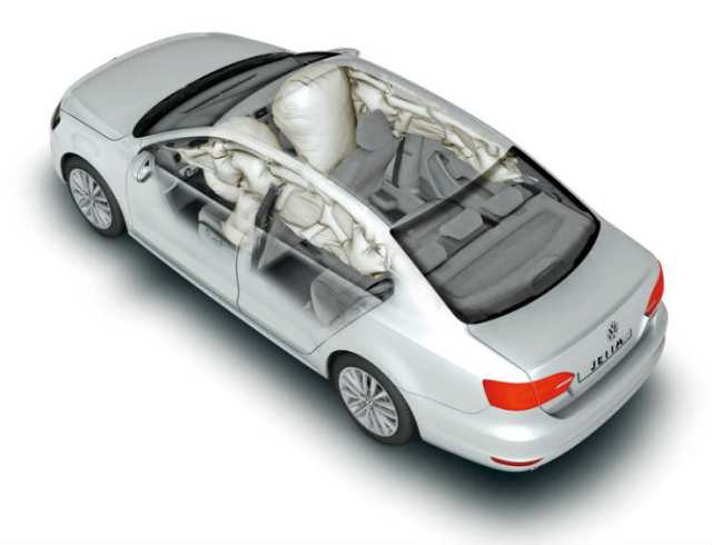 jetta 6 airbags