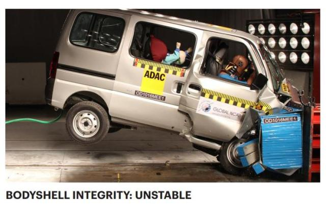 Maruti Versa Global NCAP Test