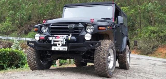 SMG Mahindra Thar Custom 6