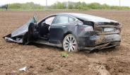 Tesla Model S Crash 7