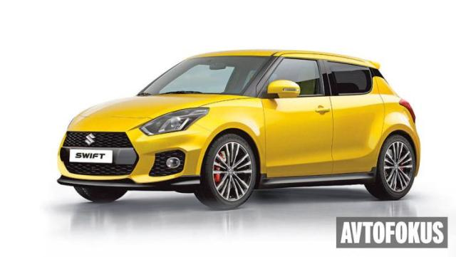 2017 Maruti Suzuki Swift Render 1