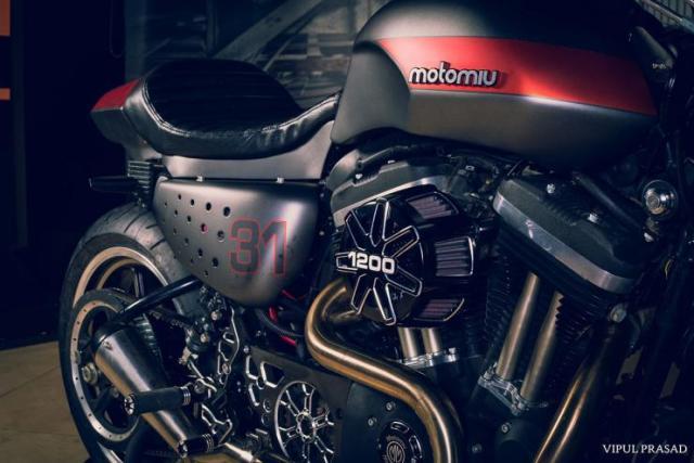 Motomiu Harley Davidson 48 Cafe Racer Custom 5