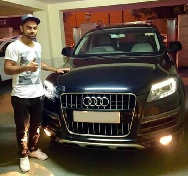 Virat-Kohli-with-his-Audi-Q7-4
