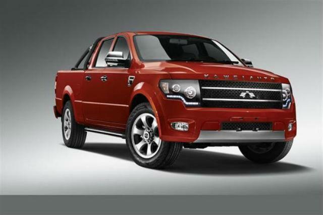Kawei K1 pickup truck - Chinese Ford F-150 Clone - 01