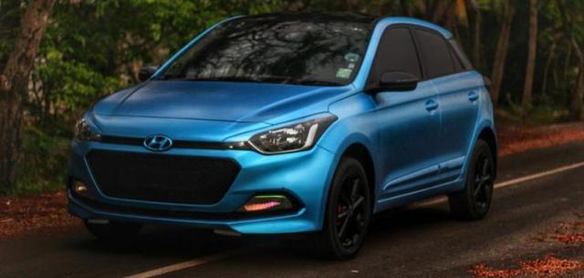 Hyundai i20 Motogrill Blue Wrap