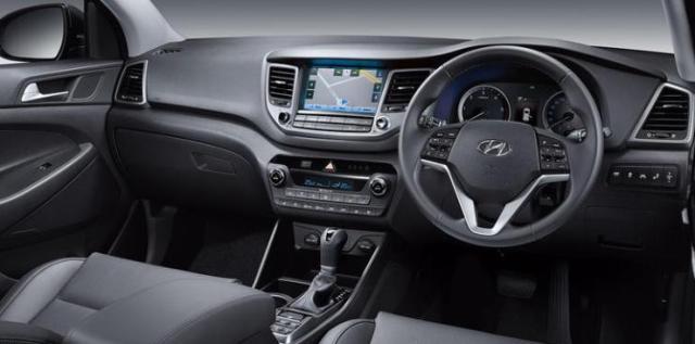 Hyundai Tucson Interiors