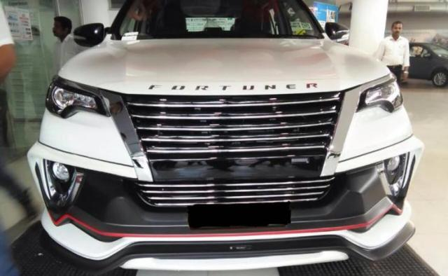 New Toyota Fortuner with Nippon body kit 1