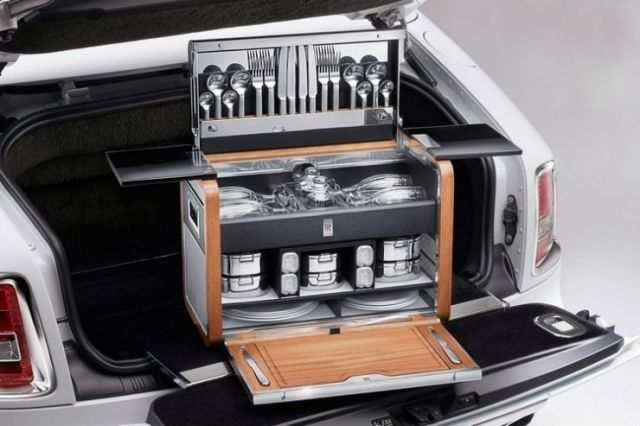 Rolls Royce Picnic Hamper >> 20 freakingly EXPENSIVE car accessories that make Rolls Royces seem cheap